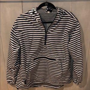 Charles River - 1/2 zip rain jacket - size M